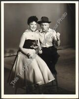 "1954 Ethel Merman ""Colgate Comedy Hour"" Official NBC TV 7x9 Photo Durante"