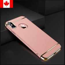 For iPhone X / XS Case Luxury Shockproof Slim Hard Impact Protective Case Cover