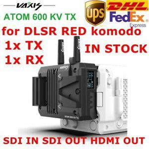 DHL Vaxis ATOM 600 KV SDI HDMI Wireless Transmission System For RED KOMODO DSLR