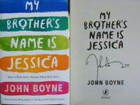 Signed Book My Brother's Name is Jessica by John Boyne hardback 2019 1st Edition