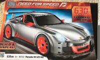 New Mega Bloks Block Need For Speed Porsche 911 GT3 RS Sport Car 638PCS #95722