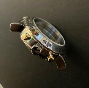 Armbanduhr Gehäuse Valjoux 7750 Edelstahl mit Krone und Dichtung