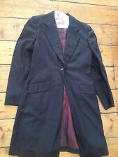 SADDLESEAT 3 Pc Suit *BROWN Pinstripe Ladies Sz 10-12 * Saddlebred, Morgan, Arab