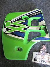 Kawasaki KX250 1988-1989 KX500 Used  genuine left hand radiator shroud KX1508