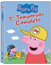 PEPA PIG TEMPORADA 5 COMPLETA DVD NUEVO ( SIN ABRIR ) SERIE DE TV ANIMADOS