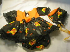 """Handmade Halloween outfits with accessories. Fits 13-14"""" baby dolls"""