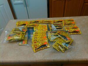 Strike King worms lizards++ 3X soft plastic baits, 50+ bags.  New. Nice assortme
