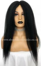 Synthetic Lace Front Crochet Braid Afro Kinky Natural Looking Wig