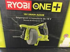 18V Drain Auger Ryobi One + P4001