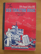 1943 The Red Tractor Book 28th Edition Maintenance & Specification Guide