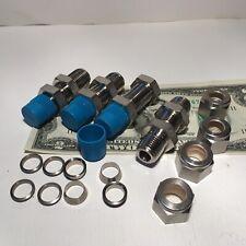 2000261 SPX Fitting Bulkhead 3//8 NPT F X 1//2 Tube
