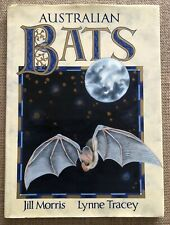 Australian Bats Jill Morris Lynne Tracey Environment Illustrated Art HC DJ 1992