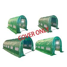 BIRCHTREE Replacement Polytunnel Greenhouse - Pollytunnel Poly Tunnel Cover Only
