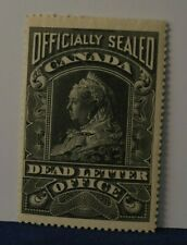 Back of the Book Canada Ox3 Officially Sealed Dead Letter Office