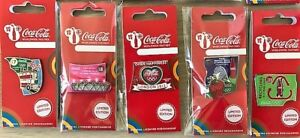 LONDON 2012 OLYMPICS COCA COLA DAY OF THE GAMES DAY 7 LONDON BUS PIN BADGE