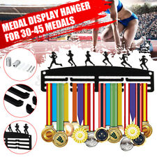 Runner Girl Running Race Sport Medal Display Rack Hanger Holder For Wall Decor