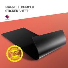 Magnetic Material Sheet  Black Thin & Flexible for Magnetizing Bumper Sticker