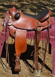 "Parelli Natural Performer Saddle Regular Tree 17"" Seat - Medium Oil"