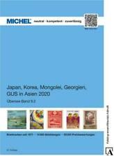 Michel Catálogo Übersee Ük 9/2 9.2 2020 Japón Corea Mongolia Georgia Gus-Asien