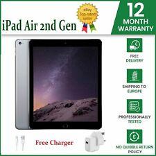 Apple iPad Air 2nd Gen 64GB Wi-Fi 9.7in Silver White Grade A iOS 14 Free P&P