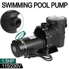 1.5Hp Swimming Pool Pump Motor Hayward w/Strainer Generic In/Above Ground