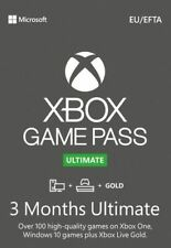 Xbox Game Pass Ultimate - 3 Months - Digital code REGION FREE (Gold + Game Pass)