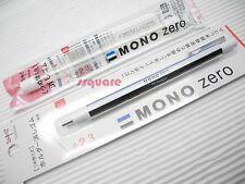 Tombow Mono Zero Circular Shaped Elastomer Eraser Pen + Eraser Refills, Tombow