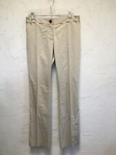 """Authentic Burberry Khaki Pants Trousers Womens Size 12 NWT $275 Inseam 36"""""""