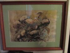 Watercolor Still life by California Artist Othello Michetti