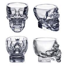 Hot Crystal Skull Head Vodka Whiskey Shot Glass Cup Drinking Ware Home Bar MT MT