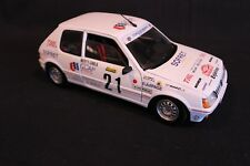 Solido Peugeot 205GTi 1988 1:18 #21 Ballet / Lallement Rallye Monte-Carlo (AK)