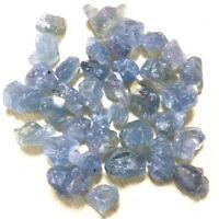 100g Natural Blue Celestite Gravel Rocks Quartz Crystal Healing Stone Specimen