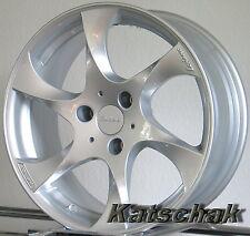 Neu Lorinser Speedy Silver Alufelgen Smart 450