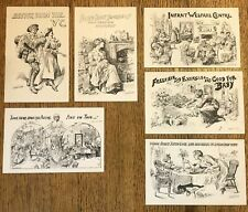More details for harry furniss early 1900s postcards x 6
