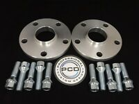 AUDI 66.5CB To VW/AUDI 57.1CB Pair 5x112 Hubcentric Spacers 20mm 10 TAP Bolts UK