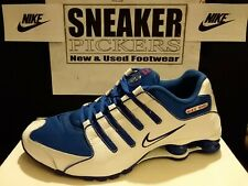 Nike Shox NZ - 378341 404 - Old Royal / White - Varsity Red - Mens Size: 9.5