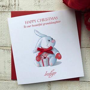 Personalised Handmade Christmas Card Brother Boy Nephew Son Grandson Godson