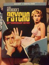 Psycho 60th Anniversary Edition (Blu-ray) No Digital, Includes Slipcover