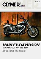 Harley-Davidson FXD Dyna Glide Twin Cam 88 1999-2005 Clymer Manual M4253