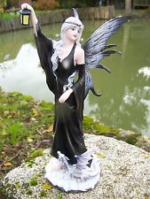 15390   FIGURINE  STATUETTE FEE  ELFE   FAIRY  ET SON  DRAGON   HEROIC  FANTASY