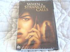 WHEN A STRANGER CALLS DVD NEW HORROR CAMILLA BELLE KATIE CASSIDY TEEN BABYSITTER