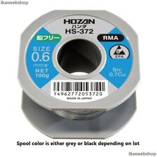 HOZAN HS-372 Lead-Free Solder, 0.6mm -- Stock in USA/Quick Ship!