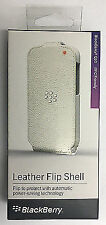 Ref Acc-50707-202 Etui Folio en Cuir pour Blackberry Q10 Blanc