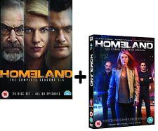 HOMELAND 1-5+6 (2011-2017): CIA Terrorist - TV Seasons Series NEW R2 DVD not US