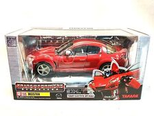 Takara Transformers BINALTECH BT08 MEISTER 1:24 RED MAZDA RX-8 Sealed MIB