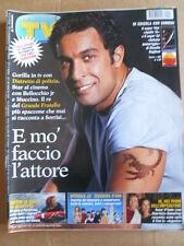 TV Sorrisi e Canzoni n°47 2002 Pietro Taricone Zecchino D'Oro Baglioni   [D54]