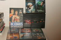 DC COMICS 8 DVD + DC ANTHOLOGIE volume cartonato FRANCESE IN BOX in cofanetto