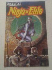 Ninja Elite #4 December 1987 Adventure Comics