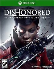 Dishonored: Death of the Outsider (Microsoft Xbox One, 2017) Factory Sealed