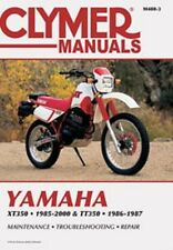Clymer Repair Service Shop Manual Vintage Yamaha XT350 85-00 TT350 86-87
